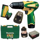 Parafusudeira Furadeira Imp 2 Baterias 12v Hp330 Bi-v Makita