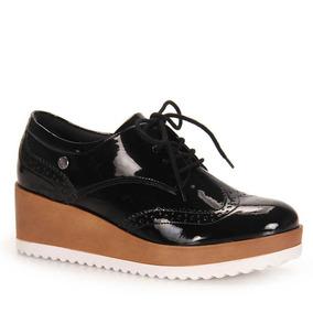 Sapato Oxford Feminino Quiz - Preto