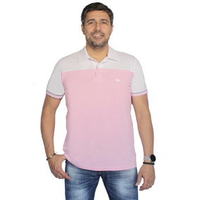 Camisa Polo Piquet Com Recorte Masculino Pp P M G Gg Zambelê 96cca165d4e40