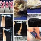 Kit Curso De Confecção De Mega Hair Micro Pele C/ Video Aula