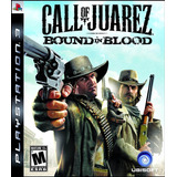 Call Of Juarez Bound Of Blood Ps3 Digital