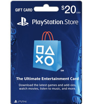 Tarjeta Ps 20 Usd Playstation Store Código Digital Americana
