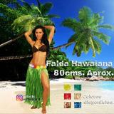 Falda Hawaiana Larga De 80cms. Disfraz Hora Loca Playera