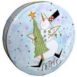 Lata De Navidad Para Tortas Galletas Dulces Regalos
