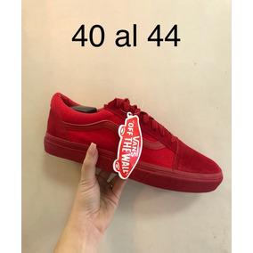 acf89ee1a Mercado En Libre Rojos Calzados Enteros Vans Zapatos Ecuador qXRCw71w