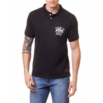Camiseta Polo Ecko Preto Tam P #2129 - Regata Camisa