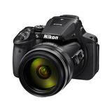 Nikon Coolpix P900 16.05mp. Optical 83x Digital + Memoria