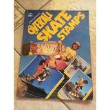Livro Ilustrado Overall Skate Stamps Faltando 5 Figurinhas