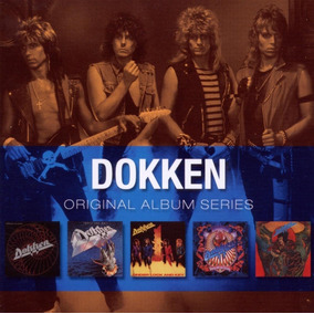 Cd Box Dokken Original Album Series 5 Discos