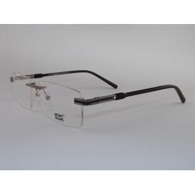 Armação Oculos De Grau Montblanc Mb150 Fibra De Carbono Gold ... 19c0b81f43