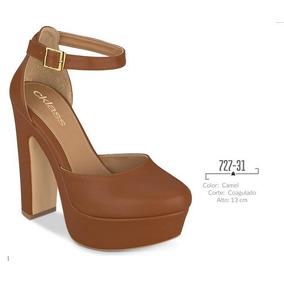 Zapatos Pumps Cklass Camel Otoño Invierno 2016 Nuevos