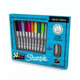 Marcadores Sharpie X 10 + 2 Metalizados (x 12 Marcadores)