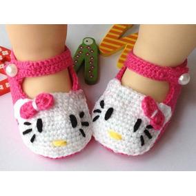 Zapatitos A Crochet Hechos A Mano Para Bebés
