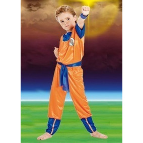 Disfraz Goku Dragon Ball Z Original Talle 4 Villa Urquiza