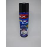 Tinta Spray Automotiva Colorgin Preto Brilhante 300ml