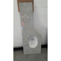 Pia Em Granito Para Banheiro Com Cuba Deca Oval