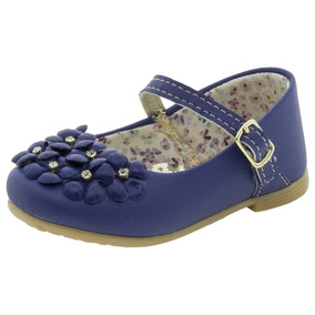 Sapatilha Infantil Feminina Azul D