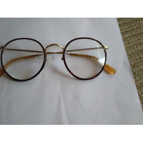 Armação Antiga Vintage Óculos P/colecionador Algha 12ktgf-