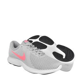 Tenis Deportivos Para Dama Nike 908999016 Blanco Gris
