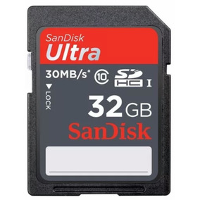 Sandisk Ultra 30mb/s 32gb Classe 10
