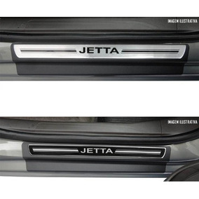 Jogo Soleira Premium Vw Jetta 2011 2012 2013 2014 Resinado