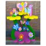 Chupetero De Mariposas Y Flores