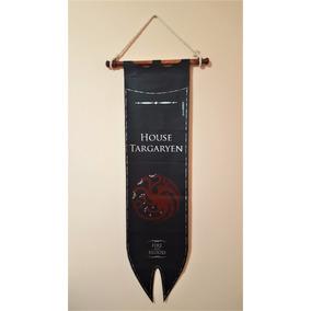 Estandarte Casa Targaryen (game Of Thrones) 1,10m X 30cm