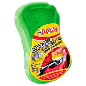 Esponja Lavar Carro Poliuretano Limpacar Luxcar