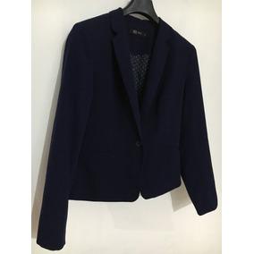Saco De Vestir Azul Marino