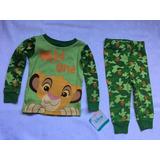 Pijama Criança Rei Leão Disney Tam 12m Importado Eua Menin