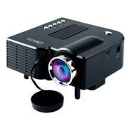Proyector Dinax Portatil 48lm Hd Stereo Control Hdmi Vga Usb