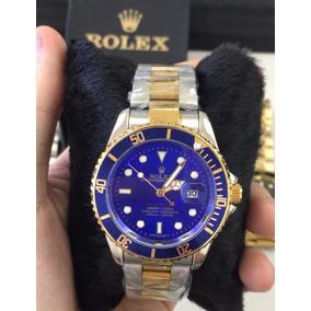 2e91ecbcd51 Rolex Submariner Misto Blue Em De Luxo Masculino - Relógios De Pulso ...
