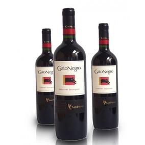 Vinho Gato Negro Carmenere 750 Ml Caixa Com 6