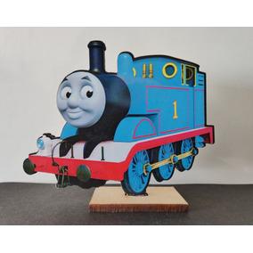 20 Souvenirs En Fibrofacil Tren Thomas + 1 Central