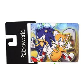 Carteira Sonic Sega Knuckles Tec Toy Master Mega Game Gear