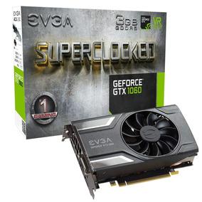 Tarjeta De Video Evga Geforce Gtx 1060 3gb Sc Gaming