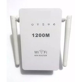 Wifi Repetidor Extensor Wireless 2 Antenas 1200mbps + Rápido