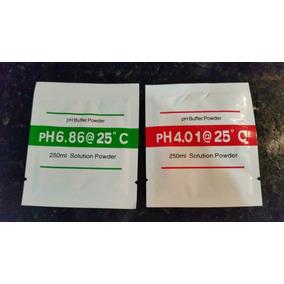 4sobres Ph ,solución De Calibración, Phmetro, Polvo Buffer