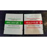 Sobres Ph ,solución De Calibración, Phmetro, Polvo Buffer