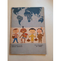 Antigo Livro De Geografia Editora Ftd Ano 1964 Raríssimo