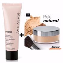 Kit Maquiagem Mary Kay Base Liquida + Base Em Pó Mineral