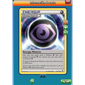 Pokemon Tcg Online - Energía Misterio #112 - Carta Virtual