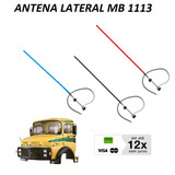 Antena Lateral Fibra Mb 1113 608 1114 708 2013 Varias Cores
