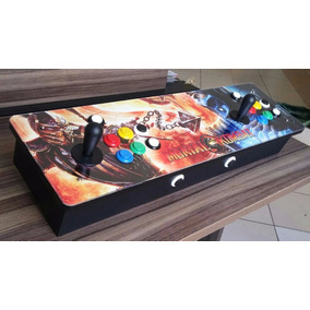 Controle Arcade Portatil - Multijogos 8 Mil Jogos