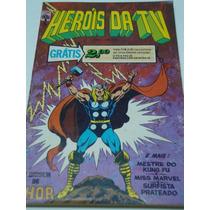 Heróis Da Tv Nº 5 De 1979 Abril Gibi Raro Antigo Quase Novo