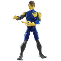 Boneco Max Steel Mattel Turbo Aqua