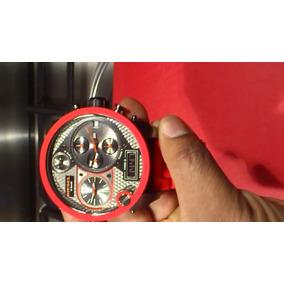 30a18ee710b Relógio Diesel 7279vermelho Garantia Original Sedex Grátis