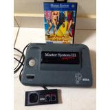 Master System 3 Compact C/ Controle + Jogos De Verão