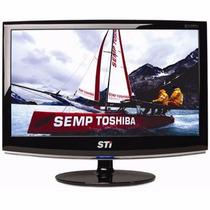 Monitor Lcd 18,5 Polegadas Sti Widescreen - Com Garantia