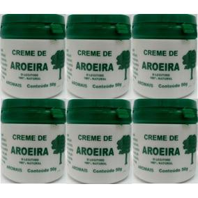 Creme De Aroeira -pomada De Aroeira -kit Com 06 Potes+brinde